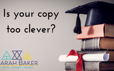 Is your copy too clever?